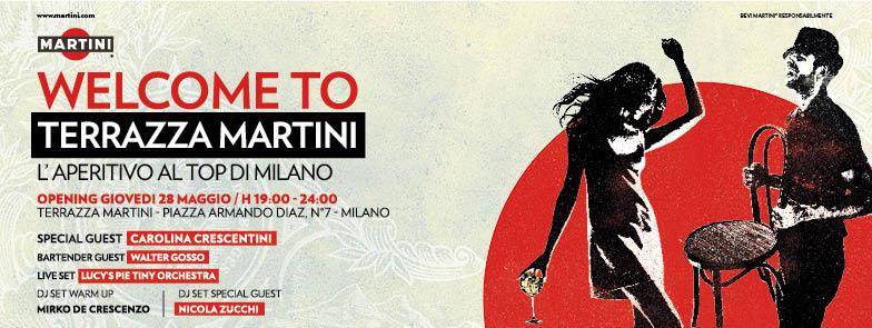 WELCOME TO TERRAZZA MARTINI® L\'APERITIVO AL TOP DI MILANO | EVENTILIVE